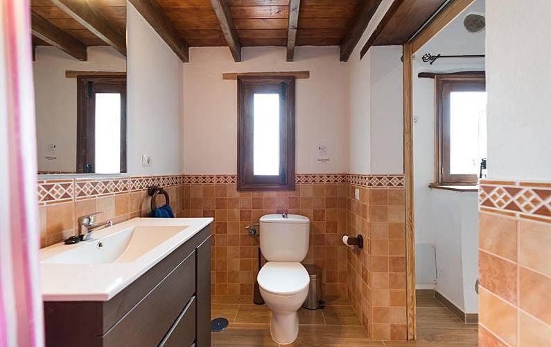 Casa in affitto a san bartolom de tirajana lomo de for Bagno in spagnolo