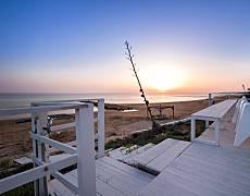 Calipso affascinante villa sulla spiaggia sabbiosa Ragusa
