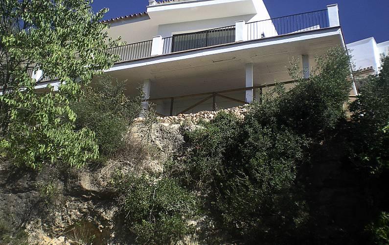Villa Exterior del aloj. Córdoba Hornachuelos Villa en entorno rural - Exterior del aloj.