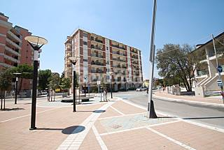 Apartment with 2 bedrooms on the beach front line Ferrara