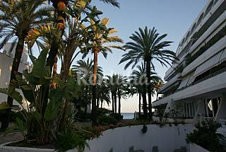 Apartment Golden Mile (near the Puente Romano hotel) in the first line of the beach waterfront for sale or rent! Málaga