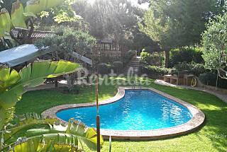 casa rural con piscina y cerca de la playa Alicante
