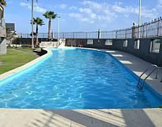 Appartamento con 2 stanze in prima linea di spiaggia Gran Canaria