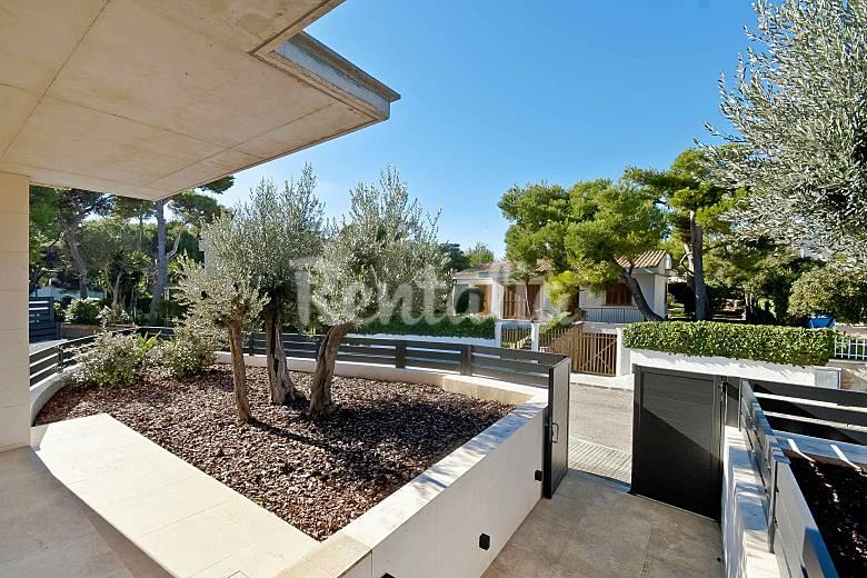 Casa nueva y moderna a 30m de playas de muro 2 platja de - Muro exterior casa ...