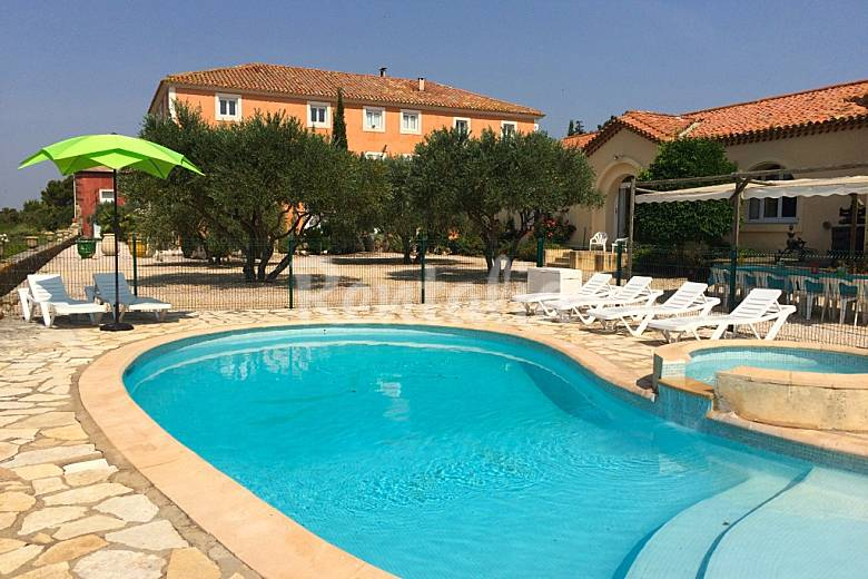 Stylish, Swimming pool Herault Portiragnes House