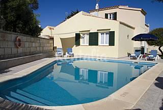 Villa con piscina a 100 m de la playa Menorca