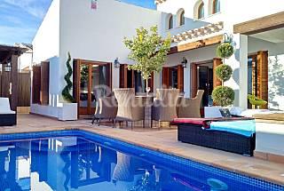 Villa per 7-11 persone in prima linea di spiaggia Murcia
