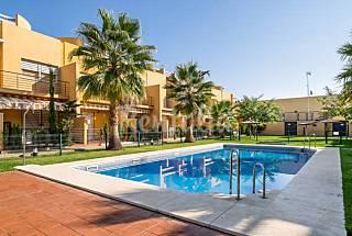 Precioso chalet con piscina y aire acondicionado Huelva