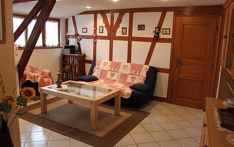 Holiday Living-room Bas-Rhin Nothalten Cottage - Living-room