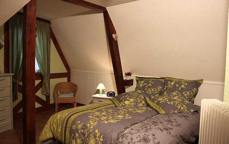 Holiday Bedroom Bas-Rhin Nothalten Cottage - Bedroom