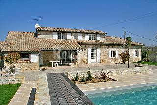 Rustic house with private pool Lot-et-Garonne