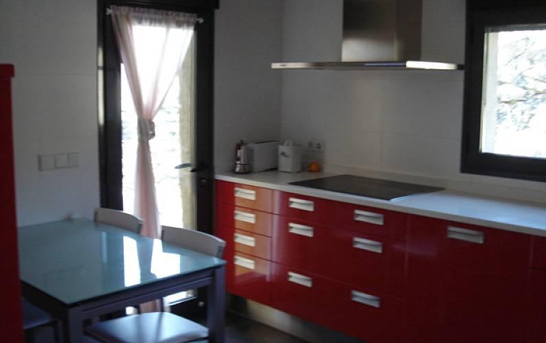 House Kitchen Madrid Manzanares el Real Cottage - Kitchen