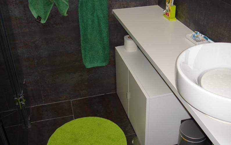 House Bathroom Madrid Manzanares el Real Cottage - Bathroom