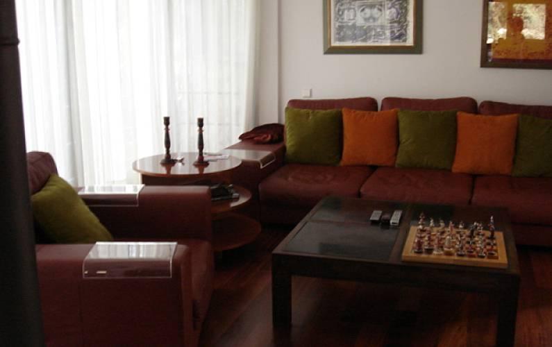 House Living-room Madrid Manzanares el Real Cottage - Living-room