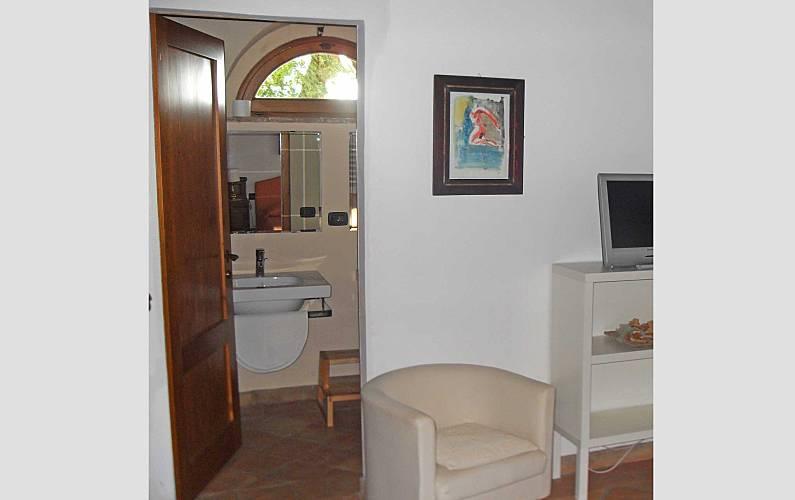 Casale Baño Siena Casole d'Elsa Apartamento - Baño