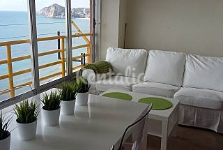 3 Apartments on the beach front line Alicante