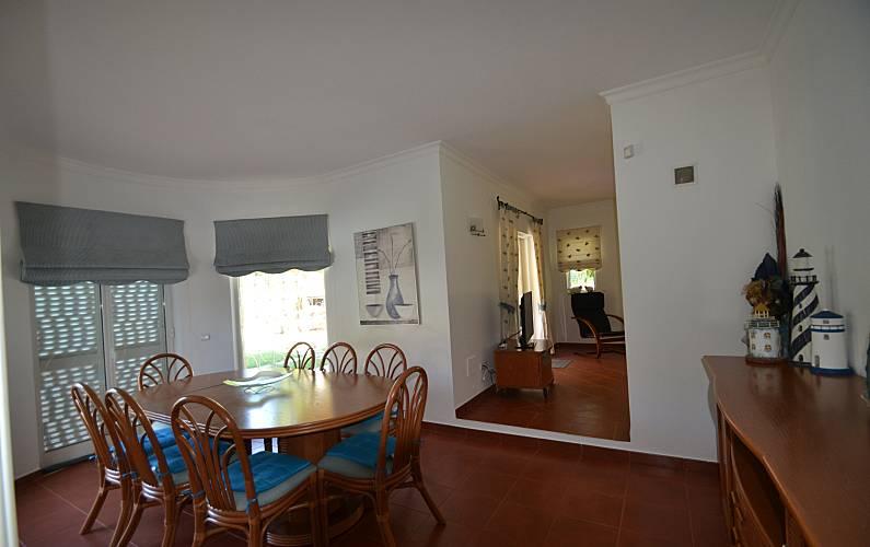 Vilamoura Dining-room Algarve-Faro Loulé villa - Dining-room