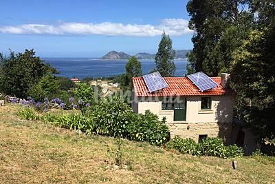Eco-casa solar de campo con vistas al mar A Coruña/La Coruña