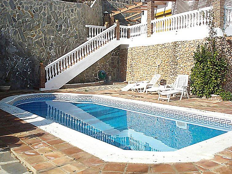 Casa en alquiler con piscina frigiliana m laga la axarqu a for Casas con piscina en malaga