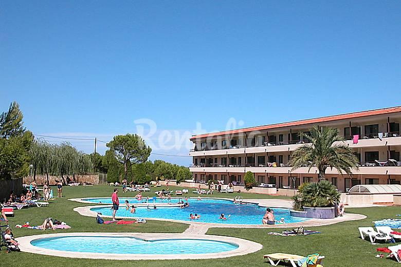 Apartamento para 4 personas con piscina pineda pals - Piscina devesa girona ...