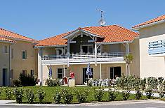 House for rent only 150 meters from the beach Landes