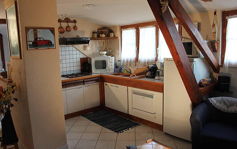 Holiday Kitchen Bas-Rhin Nothalten Cottage - Kitchen