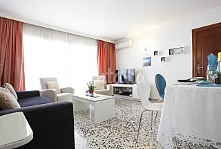 Apartamento de 2 habitaciones a 700 m de la playa Málaga