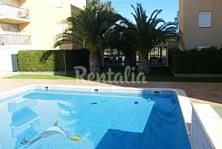 Medit - 2 hab. a 900 m de la playa, piscina com. Girona/Gerona