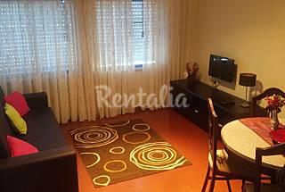 Apartamento para 2-5 pessoas a 320 m da praia Leiria