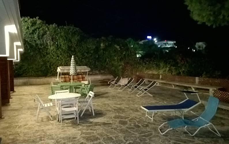 Luminosa Terrazza Lecce Melendugno villa - Terrazza
