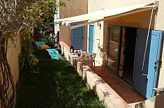 Apartamento em moradia ,terraço e jardim Algarve-Faro