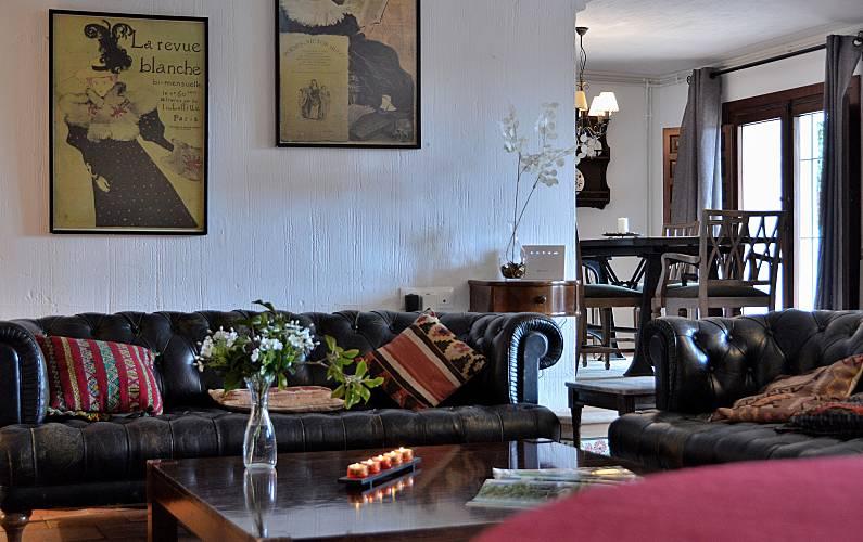 Casa Rural Finca Buenavista Cuenca - Salón