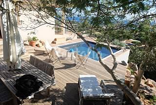 Casa - a 600 m de la playa Córcega del Sur