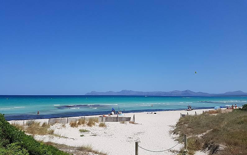 Vivenda para 8-9 pessoas a 50 m da praia Maiorca - Arredores