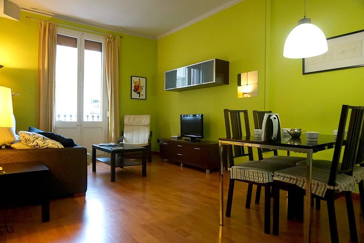 Appartement pour 2 4 personnes barcelone centre for Appart hotel 5 personnes barcelone