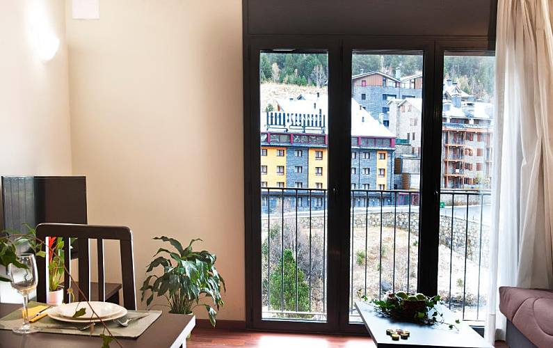 Apartamento Sala de Jantar Canillo Apartamento - Sala de Jantar