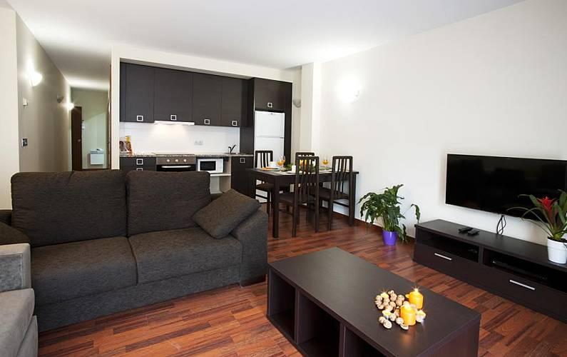 Apartamento para 4-5 pessoas Pas de la Casa - Grau Roig - Sala