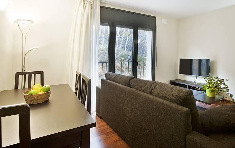 Apartamento para 2-4 pessoas Pas de la Casa - Grau Roig - Sala de Jantar