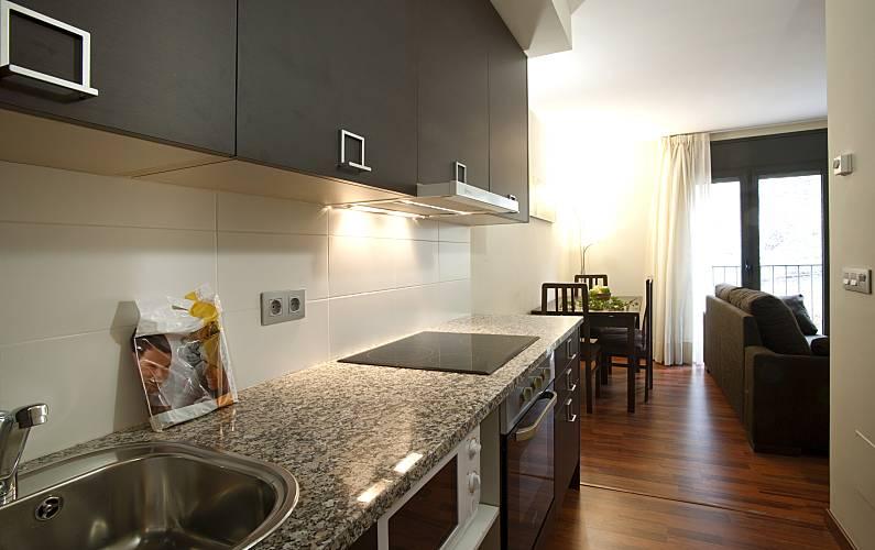 Andorra4days Cocina Canillo Apartamento - Cocina