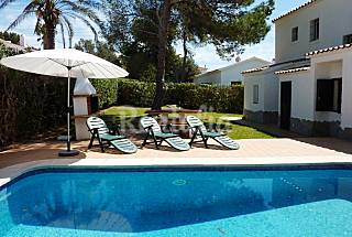Villa for rent 2 km from the beach Minorca