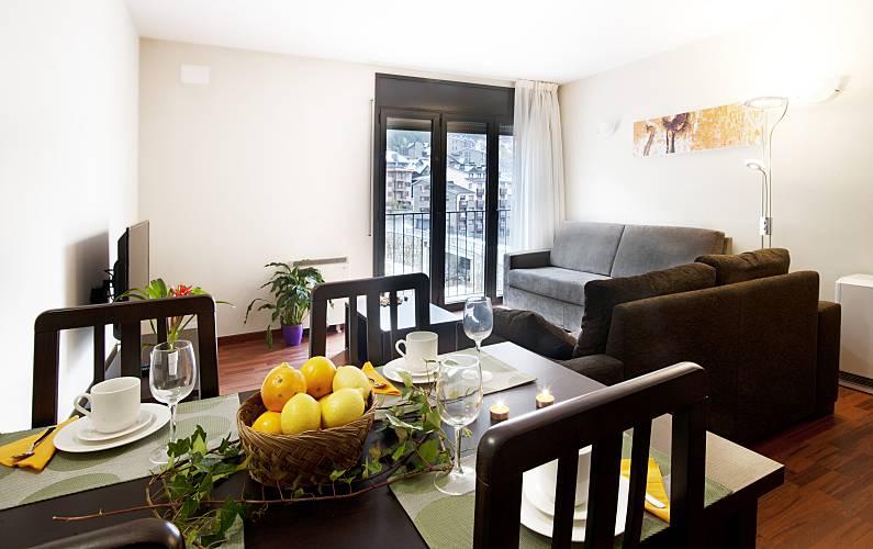 Apartment with 1 bedrooms Pas de la Casa - Grau Roig - Dining-room