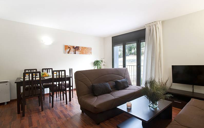 Apartment for 4-6 people Pas de la Casa - Grau Roig - Dining-room