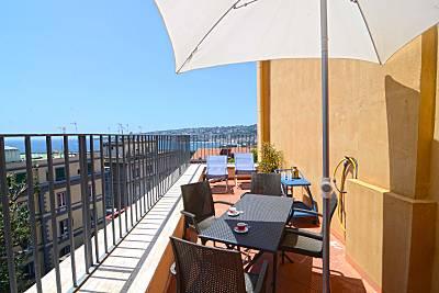 appartamento suite pizzofalcone Nápoles