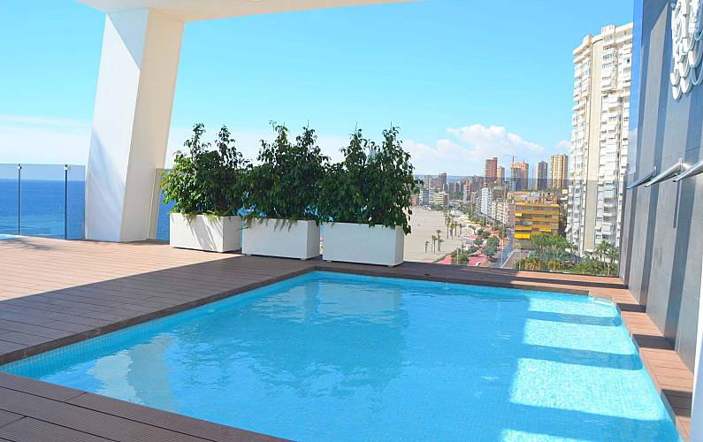 Luxury Apartment With Infinity Swimming Pool Alicante