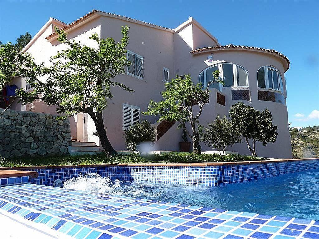 Villa con piscina y espl ndidas vistas al mar oliva valencia - Camping en oliva con piscina ...