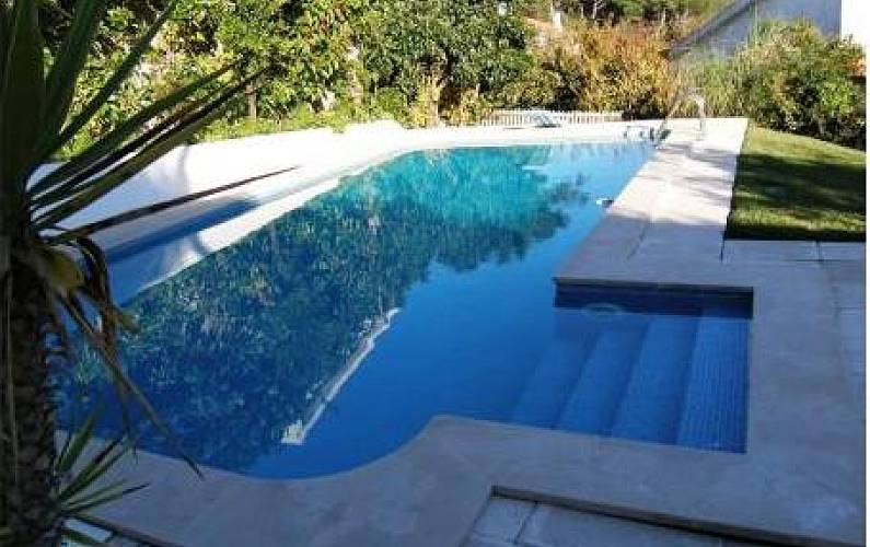 House with pool totally equipped villa 2 km from the beach Lisbon - Swimming pool