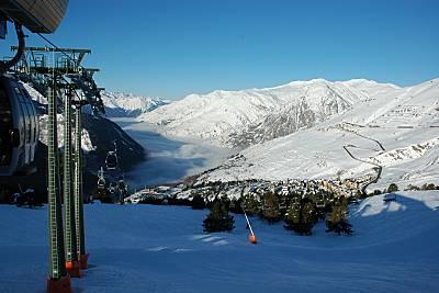 Estação de esqui Baqueira Beret