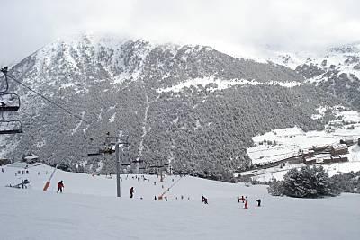 Estación de esquí Pas de la Casa - Grau Roig - Grandvalira